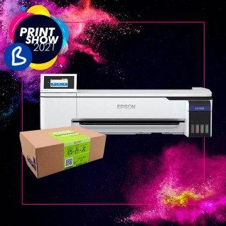 "Impresora de sublimación Epson SC-F500 - 24"" + Pack subli algodón  - BPrint Show 2021"