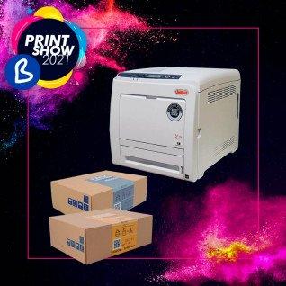 Impresora láser A4 tóner blanco Uninet iColor 540 con pack de consumible