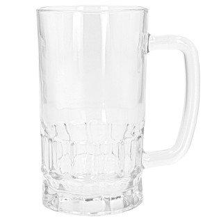 Jarra de cerveza para sublimación de cristal transparente