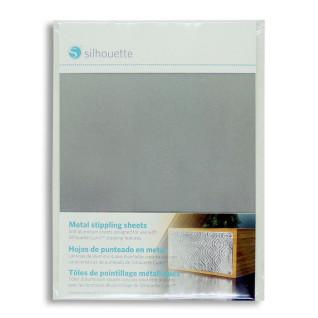 Lámina de aluminio para punteado para Silhouette Curio - Pack 6 hojas de 127x177mm