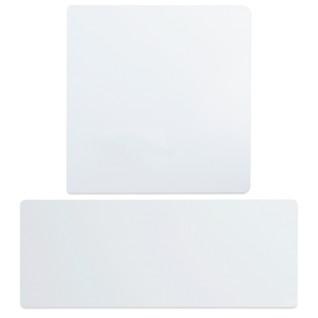 Láminas de aluminio para sublimación de forma rectangular