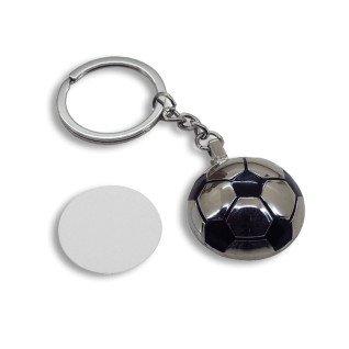 Llavero metal pelota de futbol