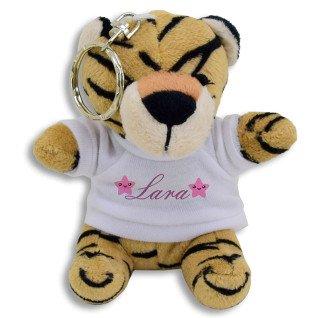 Llavero Tigre de Peluche
