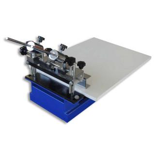 Máquina de serigrafía manual de sobremesa de 1 color con microregistro