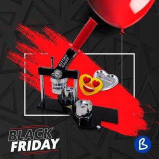 Máquina para chapas Evolution - Black Friday 2020