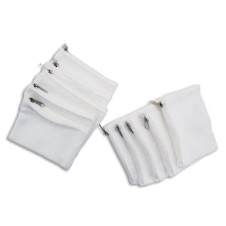 Monedero tejido tipo lino con cremallera - Pack 10uds
