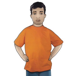 Camiseta Premium Kid Naranja