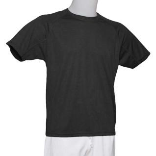 Camiseta técnica niño Negro