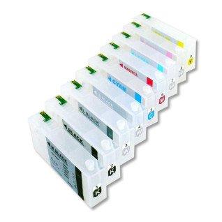 Cartuchos rellenables 160 ml compatibles para Epson 3880 con chip autoreseteable