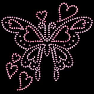 Diseño de pedrería Mariposa