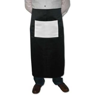 Delantal negro de camarero