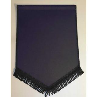 Banderín Escudo 150x100mm Negro