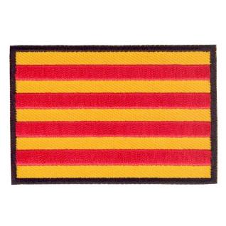 Parche bordado bandera de Cataluña pack 3 uds