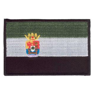 Parche bordado bandera de Extremadura pack 3 uds