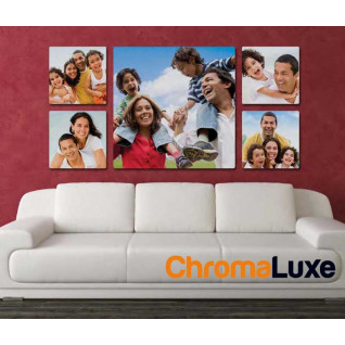 Paneles fotográficos de gran formato aluminio blanco brillo - varios