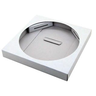 Caja de regalo para reloj de cristal redondo