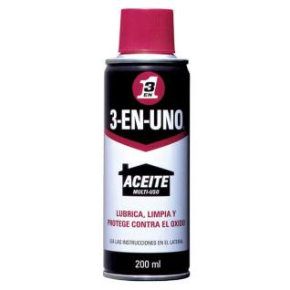 Aceite lubricante 3 en 1 en spray