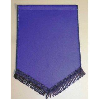 Banderín Escudo 300x200mm Azul