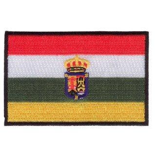 Parche bordado bandera de La Rioja pack 3 uds