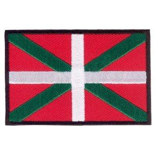 Parche bordado bandera de Euskadi pack 3 uds