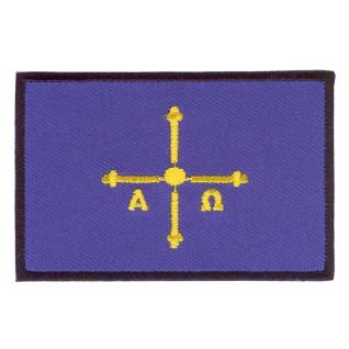 Parche bordado bandera de Asturias pack 3 uds