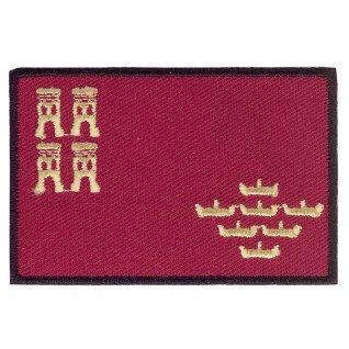 Parche bordado bandera de Murcia pack 3 uds