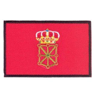 Parche bordado bandera de Navarra pack 3 uds