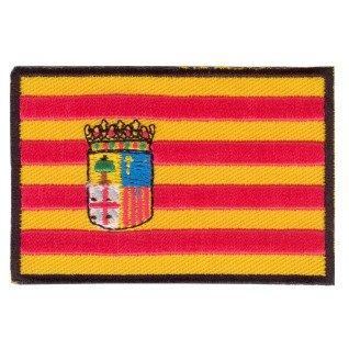 Parche bordado bandera de Aragón pack 3 uds