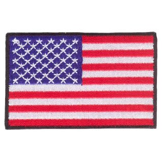 Parche bordado bandera de USA pack 3 uds