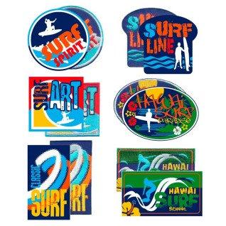 Parches bordados - tejidos Surf Surtido 12 uds