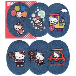 Rodilleras estampadas Hello Kitty 1 Surtido 6 uds