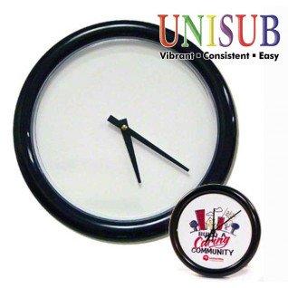 Reloj de pared con marco redondo 26cm 1