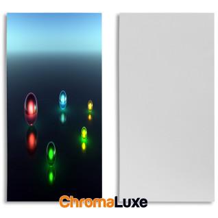Paneles fotográficos de plástico blanco Brillo