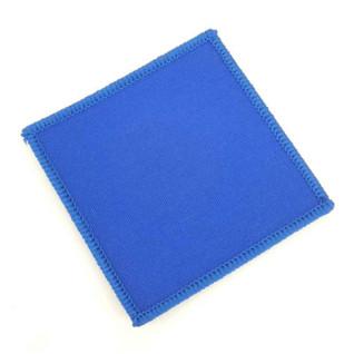 Parche Cuadrado Termoadhesivo 80x80mm Azul pack 10 uds