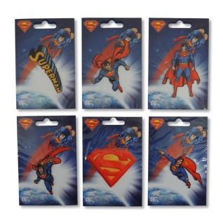 Parches tejidos Superman Surtido 6 uds