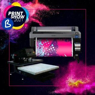 Pack Impresora de sublimación EPSON F6300 + Plancha MT-40 100x80cm