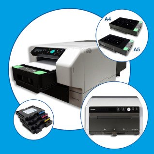 Pack impresora Ricoh Ri 100 con horno finalizador