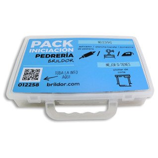 Pack muestrario de pedrería