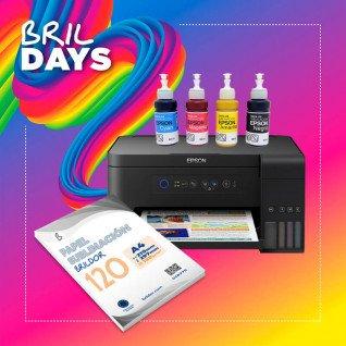 Pack Sublimación impresora Epson ET-2700 A4 - Brildays 2020