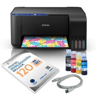 Pack sublimación impresora Epson ET-2711 A4