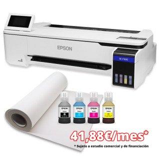 "Pack sublimación impresora Epson SC-F500 - 24"" - Financiación"