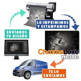 Panel Chromaluxe aluminio mate + SERVICIO DE IMPRESIÓN