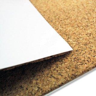 Panel de corcho con laminado para sublimación de 87 x 62 cm