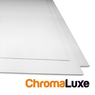 Paneles fotográficos de gran formato aluminio blanco brillo doble cara