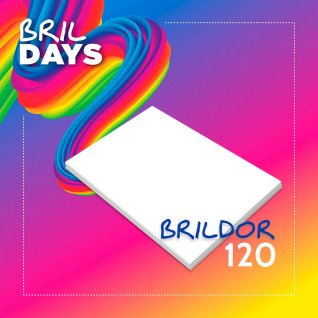 Papel sublimación en hojas Brildor 120 - Brildays 2020