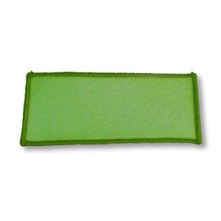 Parche Rectangular Termoadhesivo 100x50mm Verde