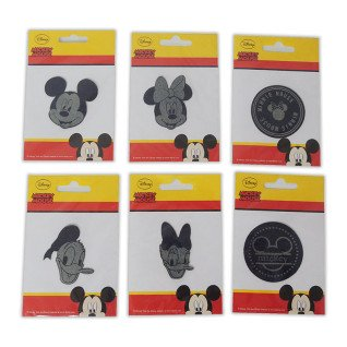 Parches estampados Mickey Denim - Motivos surtidos