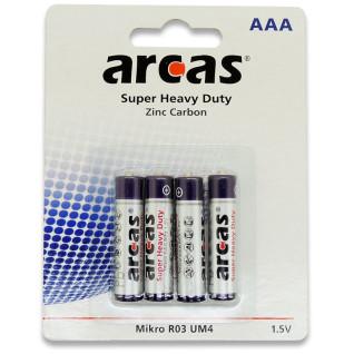 Pila AAA/R03 1.5V - Pack de 4 unidades