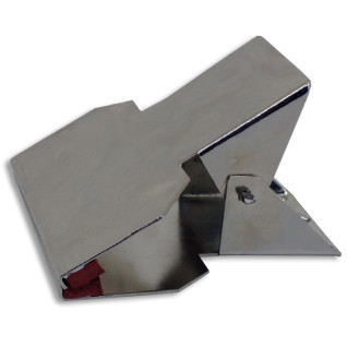 Pinza de sujeccion para láminas de silicona