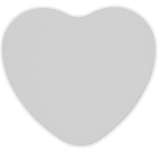 Placa de aluminio adicional para caja de metal corazón